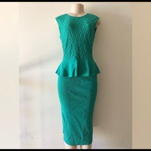 Eva Mendes Top & Midi Skirt